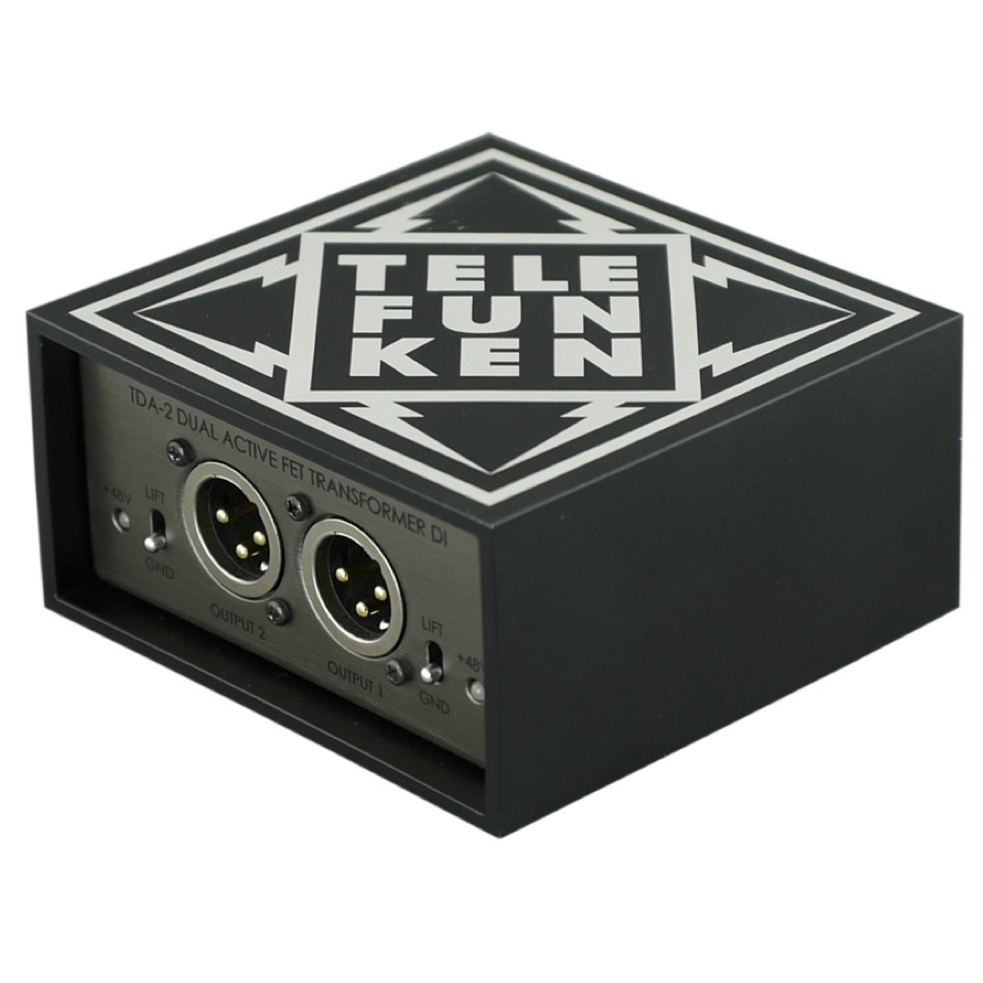 New Gear Alert: Telefunken Ships TDA-Series DI's, Saturation Galore & More
