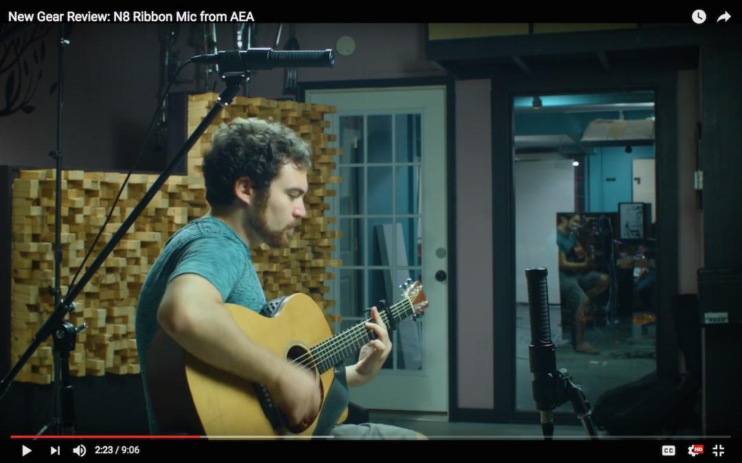 New Gear Review: AEA N8 Ribbon Mic [VIDEO]