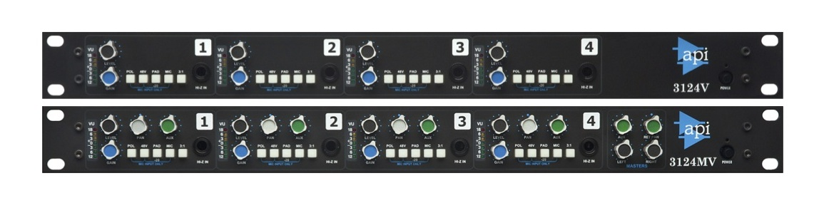 New Gear Alert, Post-NAMM Edition: API's New 3124 Pres, Old School Combo from Chandler, Slate Virtual Recording Studio & More