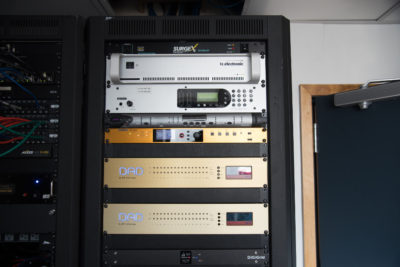 DAD routing and master clock, plus Waves DiGiGrid are the nerve center of a facility with extreme networking.