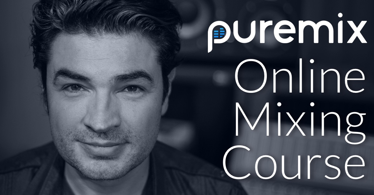 """First """"Online Interactive Mixing Course"""" from pureMix.net"""