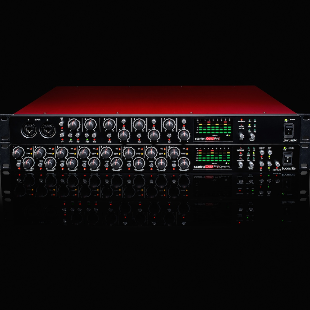 New Gear Alert: Focusrite Scarlett Preamps with Compression, New Sounds by RZA and Steve Aoki, Vibey FET Compression and More