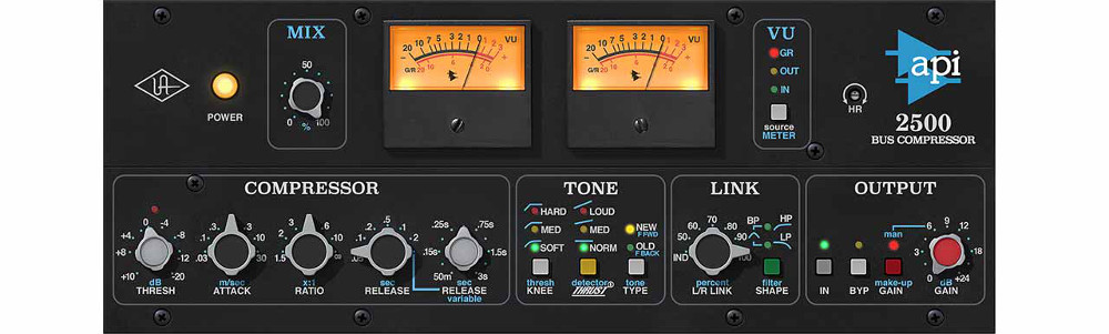 The UAD 2500 Bus Compressor does more than just ride the buss, as Jeff Balding can tell you.