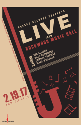 NYC Event – Chesky Hosts Live Binaural Recording @ Rockwood Music Hall, 2/19