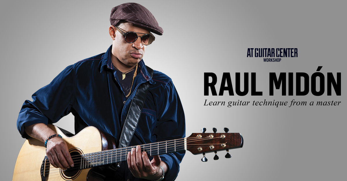 Free NYC Event 3/23/17: Workshop with Guitarist and Mouth Trumpeter Extraordinaire, Raul Midon