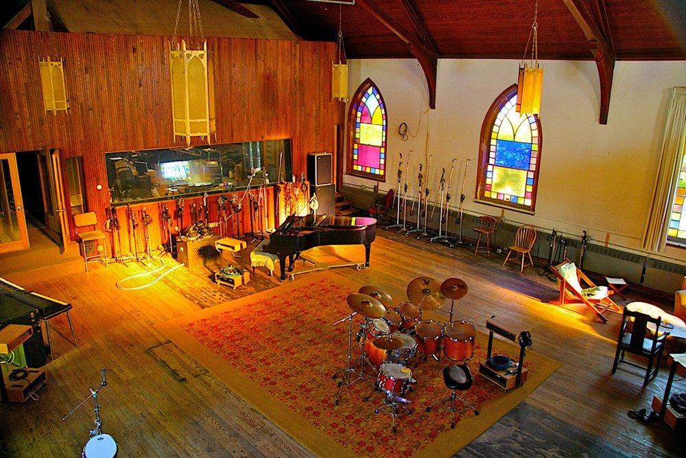 A Interior View Of Dreamland Recording Studios.