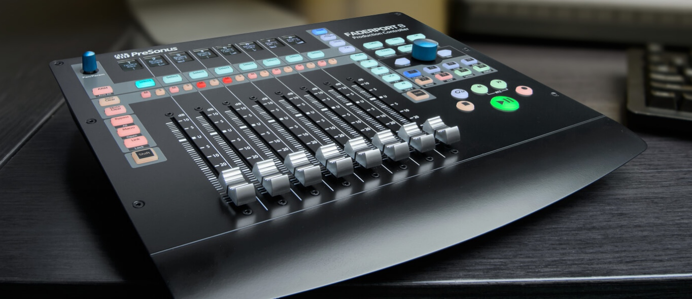 New Gear Review: PreSonus FaderPort 8