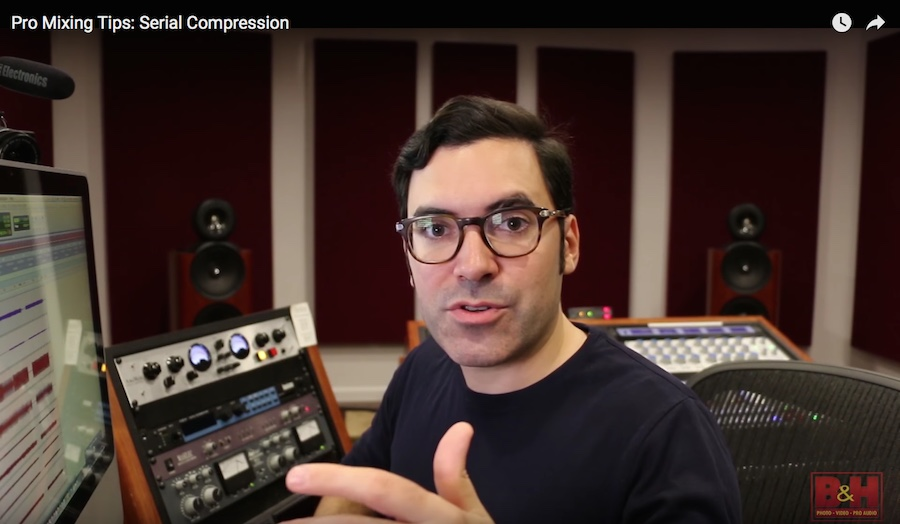 Free Mini-Course on Mixing with Compression from Justin Colletti