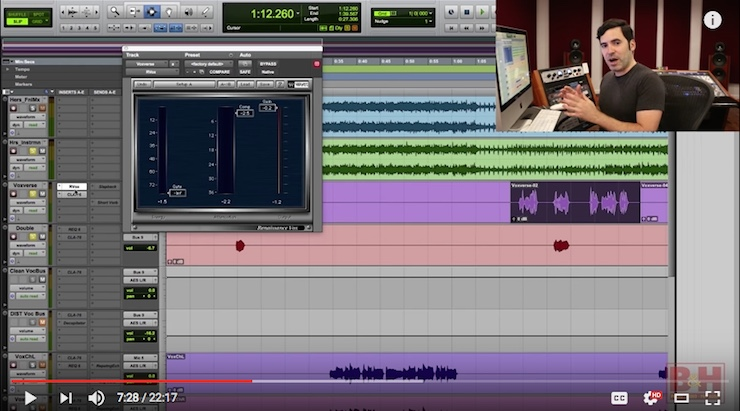 Free Mini-Course on Mixing Vocals with Justin Colletti