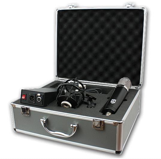 New Gear Review: Lauten Audio Series Black LA-320 Large Diaphragm Condenser Microphone