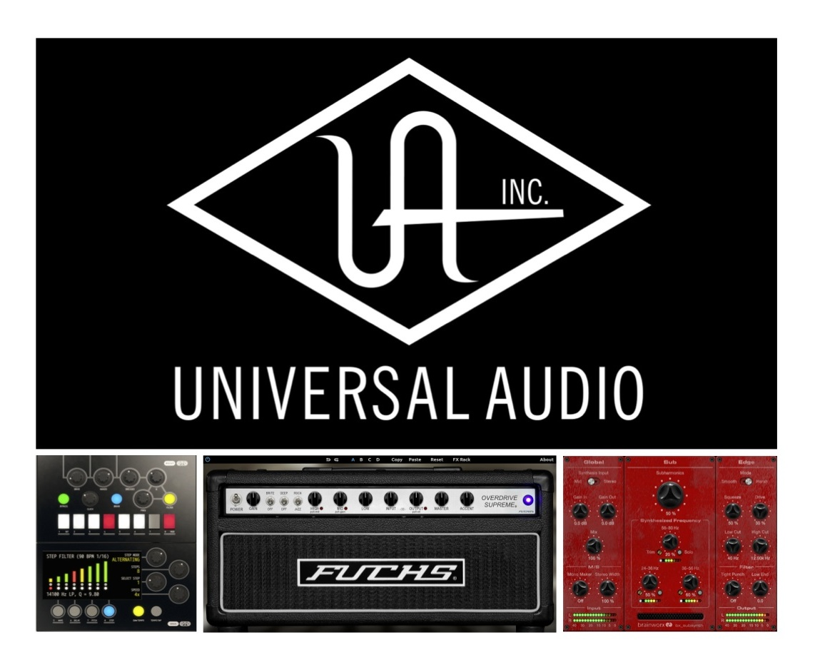 New Gear Alert: New Tools from UAD, Free Plugin Suite for PreSonus Users, Plugin Alliance's 100% DSP AAX Bundle & More