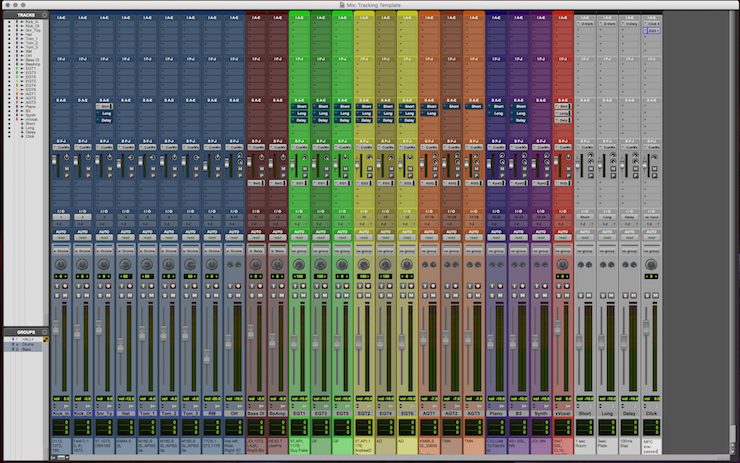Life or Death Pro Tools Tips: Developing Your Tracking Template