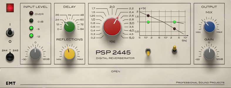 New Software Review: 2445 EMT Reverb by PSP Audioware