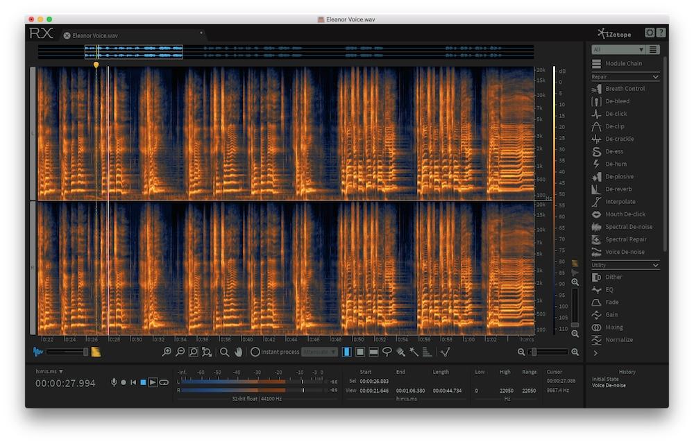 New Gear Alert: iZotope RX 6, UK Sound Mic Pre/Compressor, Orange Op-Amp & More