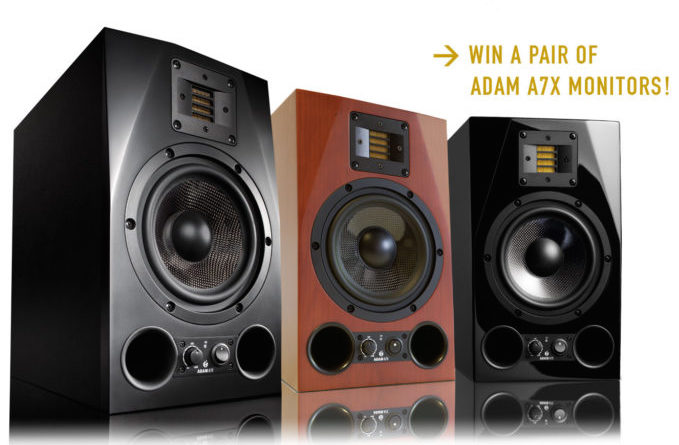 Last Chance to Win a Pair of ADAM Monitors by Entering Their Photo Competition — Ends May 31