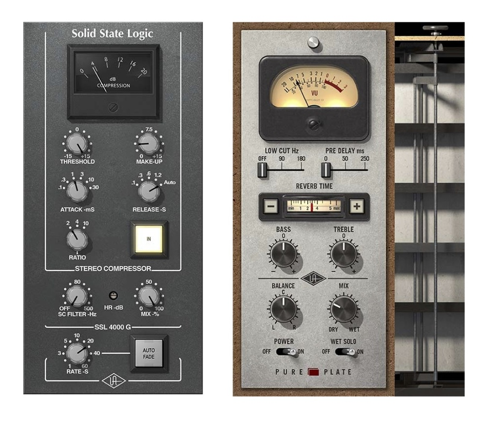 New Gear Alert: UAD SSL Bus Compressor & Pure Plate Reverb Plugins, Limited Edition Moog Synth, Eventide's PitchFuzz & More