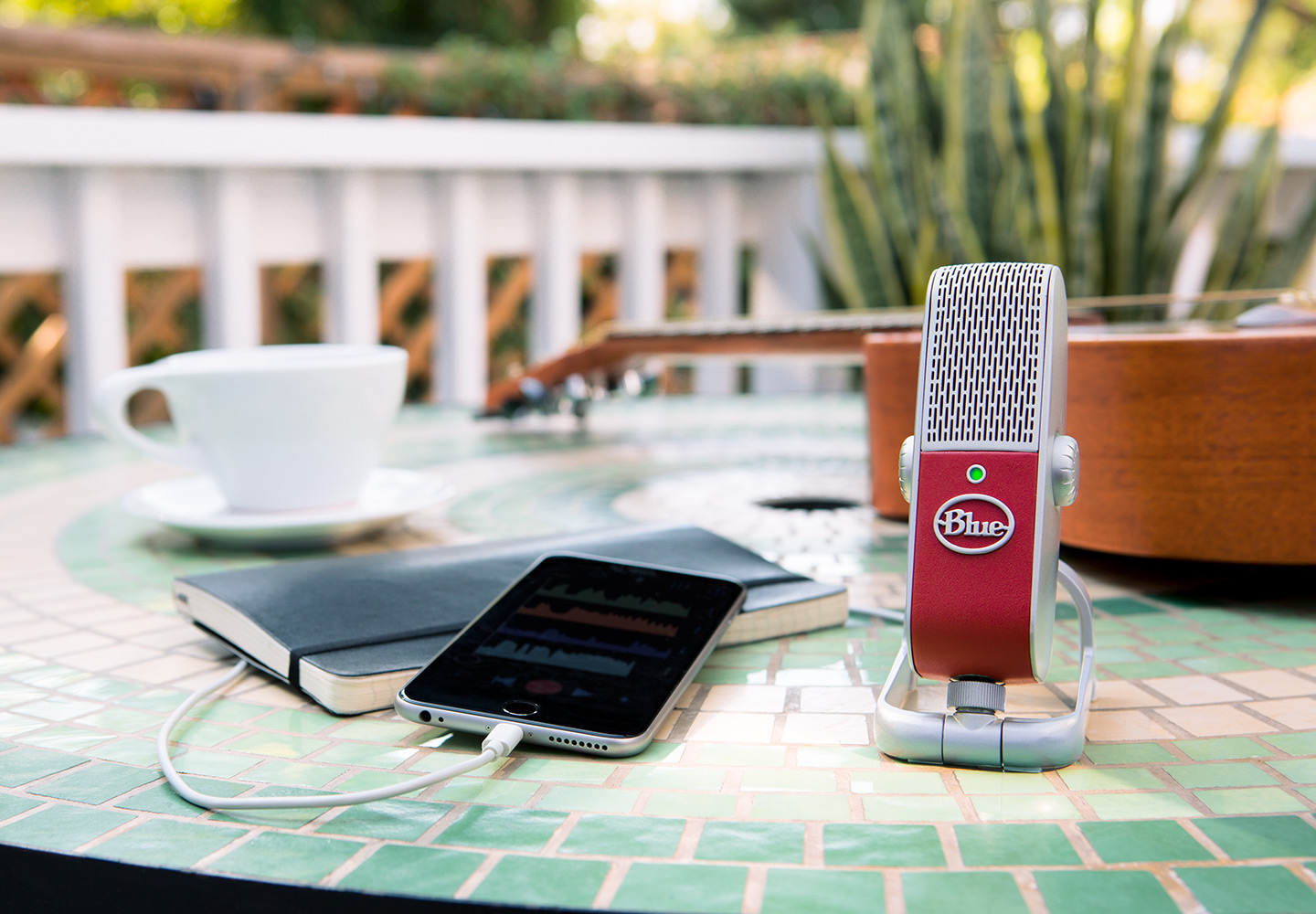 New Gear Review: Raspberry USB Microphone from Blue
