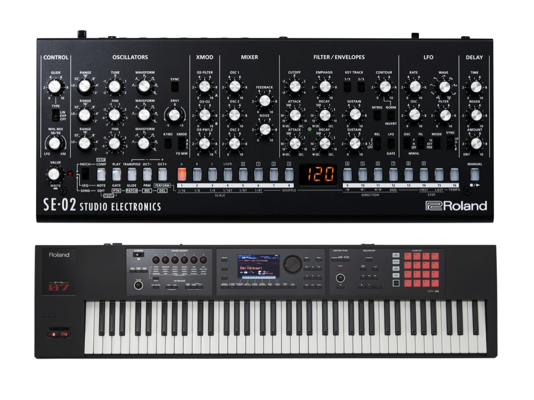 New Gear Alert: Roland SE-02 Analog Synth, Complete Vocal Studio Solution from M-Audio, Free Waves Plugin & More