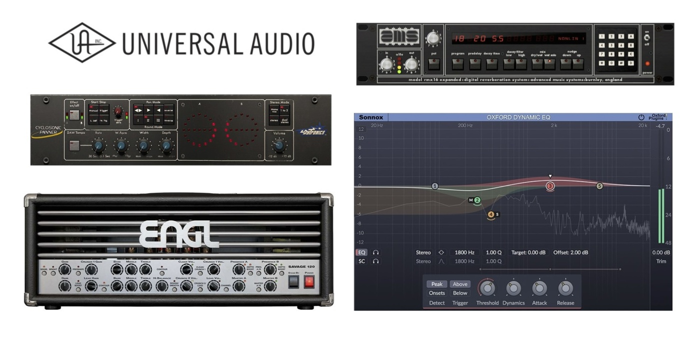 New Gear Alert: UAD v9.3 Plugins, 500 Series FET Compressor from BAE, Thunder Knob Guitar Pedal by Lightning Boy & More