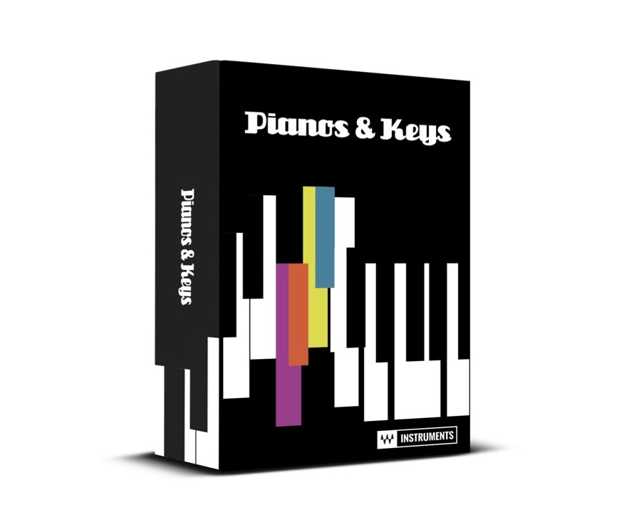 New Gear Alert: Pianos & Keys Bundle from Waves, Roland TR-08 Rhythm Composer & More