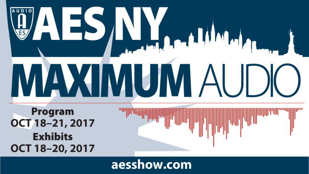 143rd AES Convention Comes to NYC 10/18 – Free Registration for SonicScoop Readers