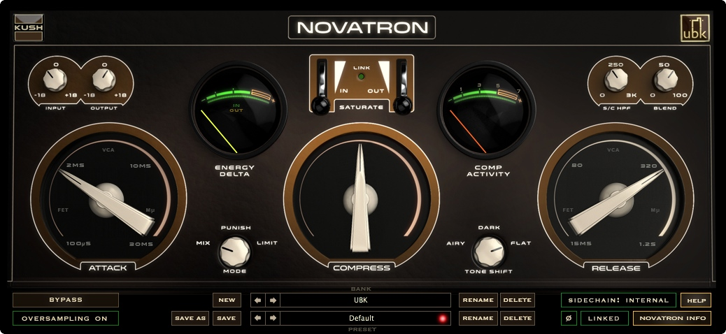 New Gear Alert: Kush Novatron is Here, Waves Torque for Drums, EQ Innovation from Eventide & More