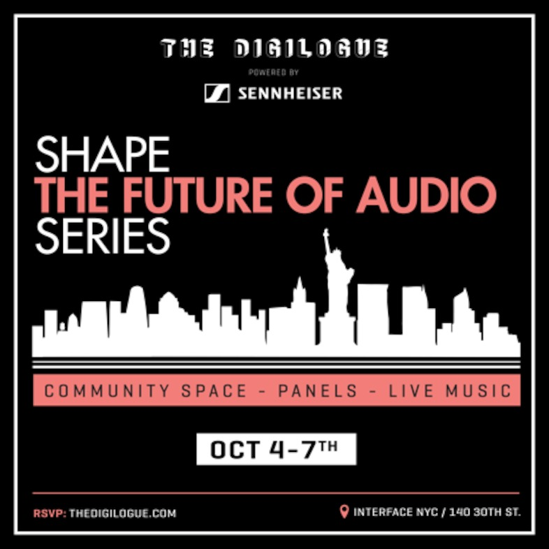 "NYC Event Alert: ""Shape the Future of Audio"" Series on VR/3D Audio – Oct. 4-7"