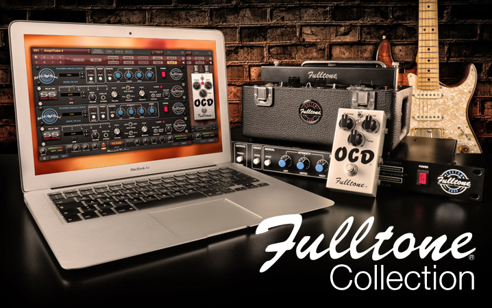 New Software Review: Fulltone Collection for AmpliTube by IK Multimedia