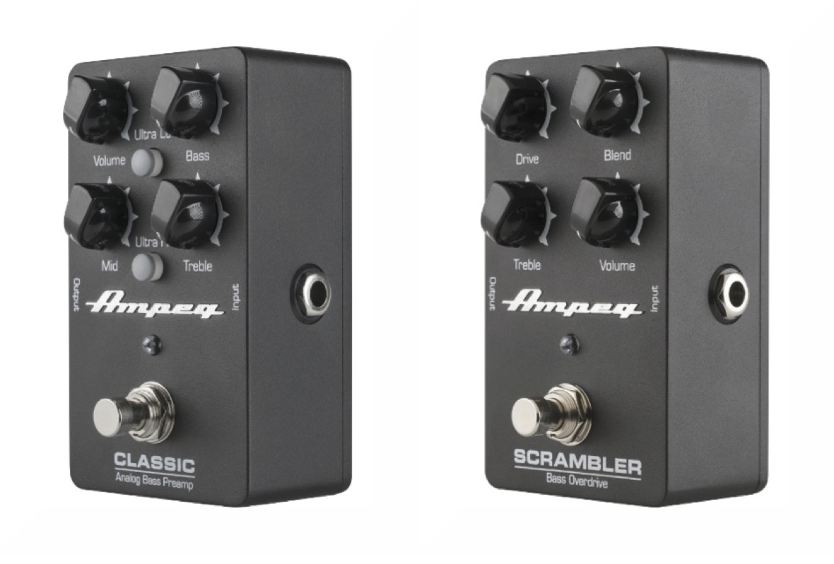 New Gear Review: Ampeg's Classic Analog Bass Preamp & Scrambler Bass Overdrive