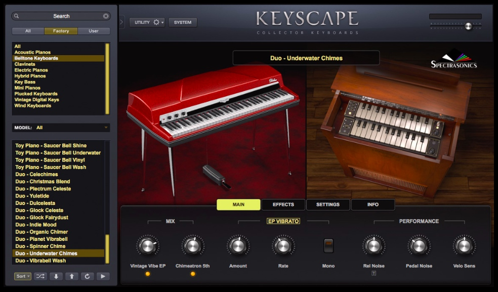 New Software Review: Keyscape Collector Keyboards by Spectrasonics