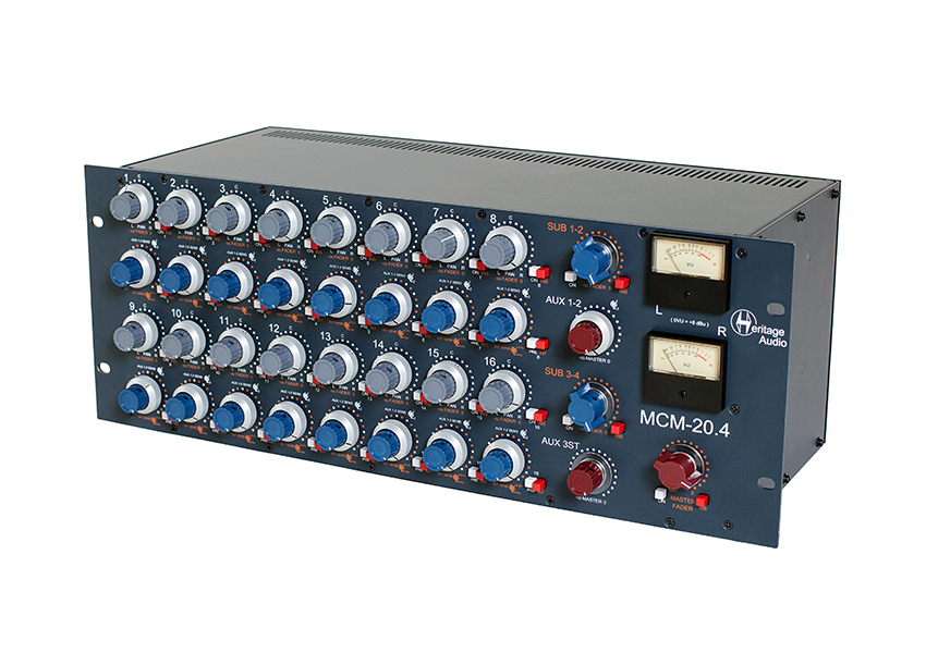 New Gear Review: Heritage MCM20.4 Summing Mixer
