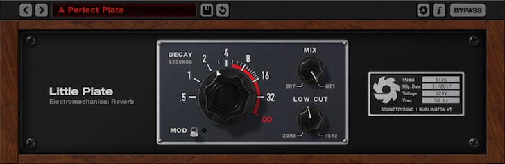 "Free ""Little Plate"" Reverb Plugin from Soundtoys for Limited Time"