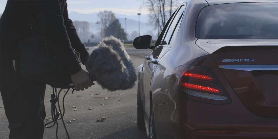Sound is the Star in this AMG-Mercedes Spot: An Audio Timeline from the Racetrack to Atmos