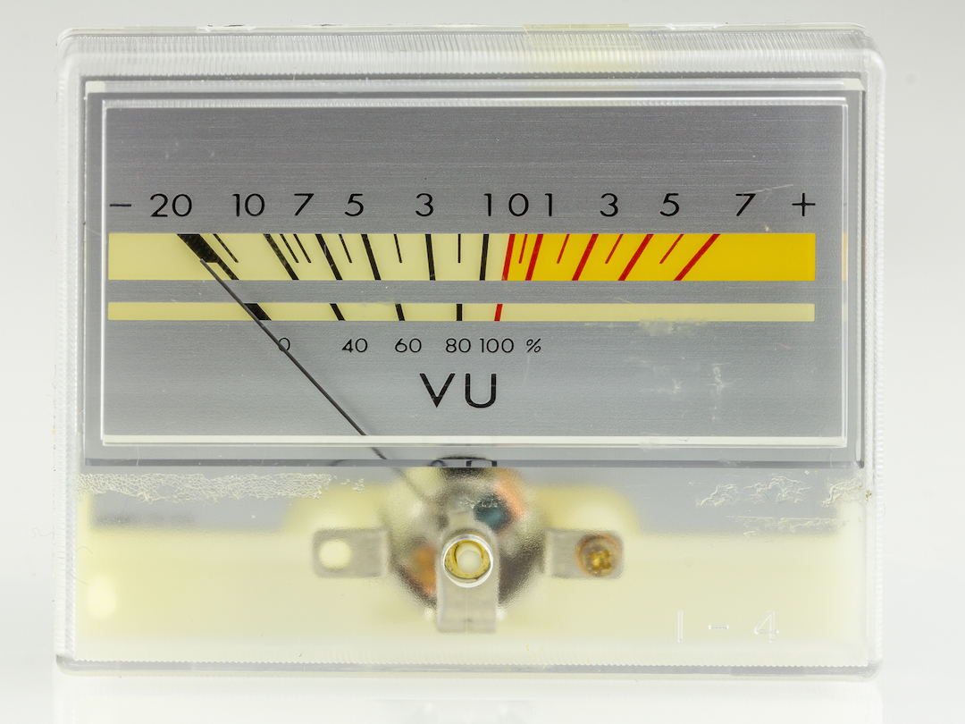 Everything You Need To Know About Audio Metering But Were Afraid How Build Vu Meter 4 The Trusty Was Something Like Original Loudness