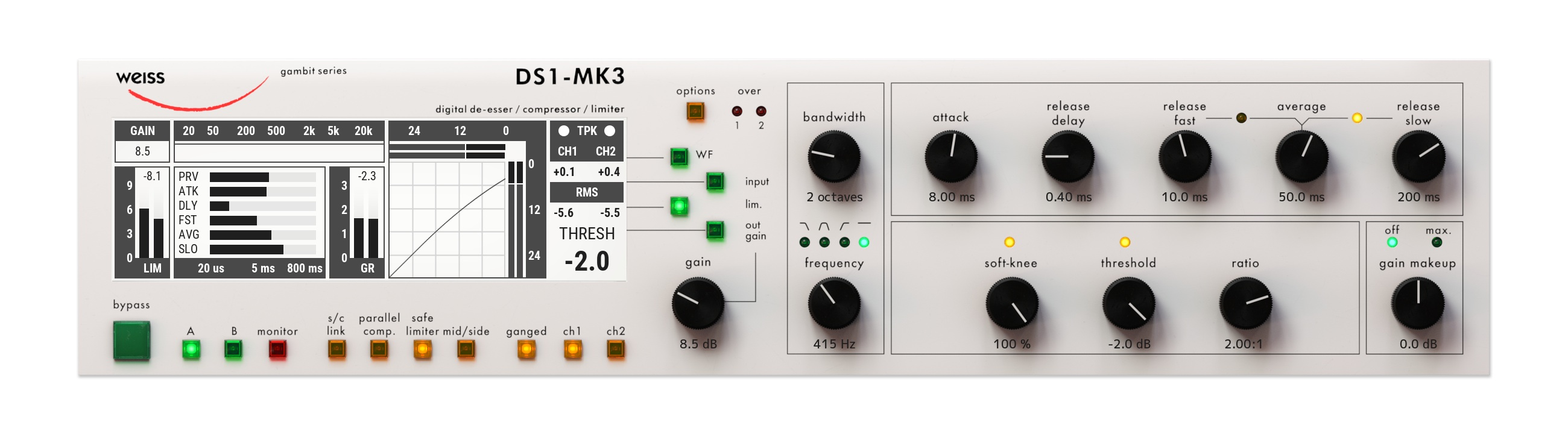 New Software Review: Weiss DS1-MK3 Mastering Processor by