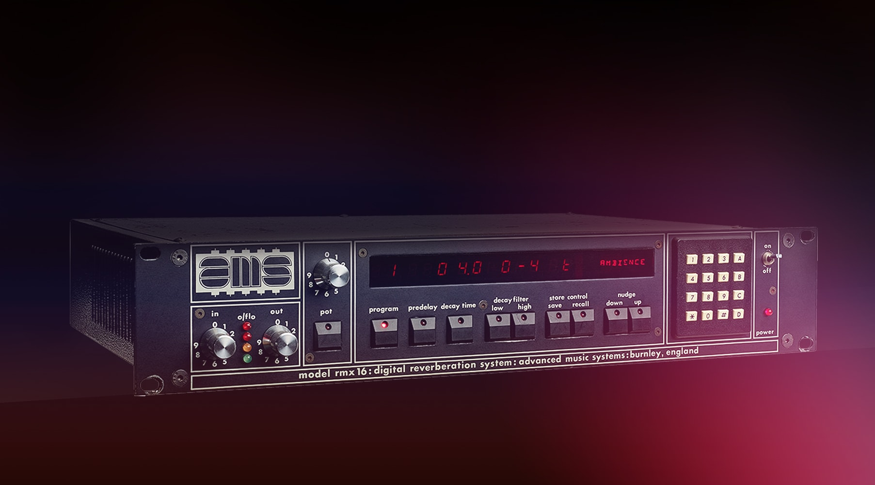 New Software Review: UAD AMS RMX16 Expanded Digital Reverb by